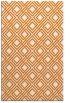 rug #174601 |  orange retro rug