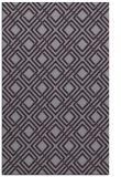 rug #174645 |  purple check rug