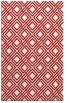 rug #174649 |  red check rug