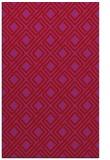 rug #174661 |  pink check rug