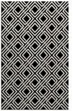 rug #174681    black check rug