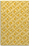 rug #174697 |  yellow check rug
