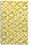 rug #174709 |  yellow check rug