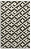 rug #174717 |  black check rug