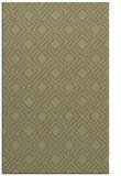 rug #174733 |  light-green check rug