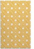 rug #174745 |  light-orange check rug