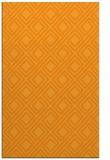 rug #174753 |  light-orange check rug