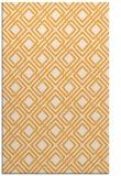 rug #174757 |  light-orange check rug