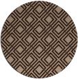 rug #174775   round check rug