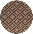 rug #174780 | round check rug