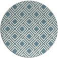 rug #174785   round white retro rug