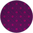 rug #174789 | round blue check rug