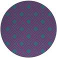 rug #174826 | round check rug
