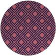 rug #174853   round check rug