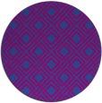 rug #174864   round check rug