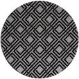 rug #174934 | round check rug