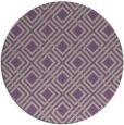 rug #174941 | round beige check rug