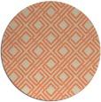 rug #174957 | round beige check rug