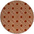 rug #174960 | round check rug