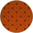 rug #175008   round check rug