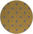 rug #175075 | round check rug