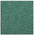 rug #175521 | square blue-green animal rug