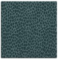 rug #175537 | square blue-green animal rug