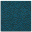 rug #175545   square blue-green animal rug