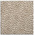 rug #175617   square mid-brown animal rug