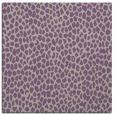 rug #175645 | square purple animal rug