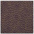 rug #175697   square mid-brown animal rug