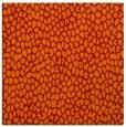 rug #175709 | square orange animal rug