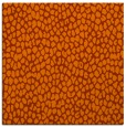 rug #175721 | square red-orange rug