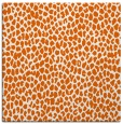 rug #175733 | square red-orange animal rug