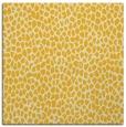 rug #175753 | square yellow animal rug
