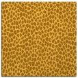 rug #175769 | square light-orange animal rug