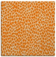 rug #175781 | square orange animal rug