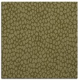 rug #175797 | square light-green animal rug