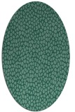 rug #175873 | oval blue-green natural rug