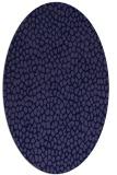 rug #175901 | oval blue-violet animal rug