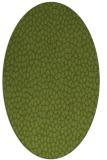 rug #175941   oval green animal rug