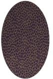 rug #176050   oval animal rug