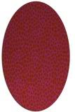 rug #176072 | oval animal rug