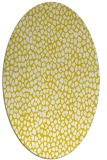 rug #176117 | oval white natural rug