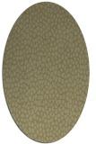 rug #176141 | oval light-green rug