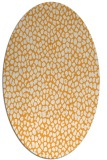 rug #176165 | oval light-orange natural rug