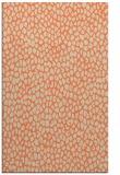 rug #176365 |  orange animal rug
