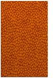 rug #176425 |  red-orange natural rug
