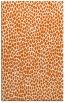 rug #176437 |  red-orange animal rug