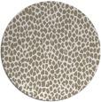 rug #176521 | round beige natural rug